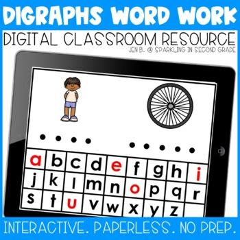 Beginning Digraphs Digital Word Work