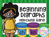 Beginning Digraphs Matching Game with Differentiation