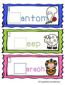 Beginning Digraphs PH/SH Task Cards