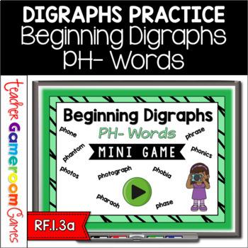 Beginning Digraphs Ph Mini Game
