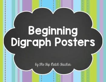 Beginning Digraphs Posters FREEBIE