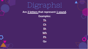 Beginning Digraphs PowerPoint