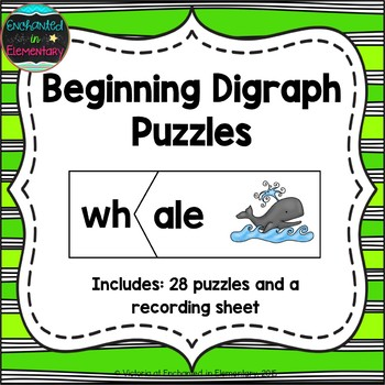 Beginning Digraphs Puzzles