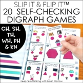 Beginning Digraphs Self-Checking Games - Slip It and Flip It