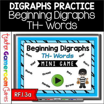 Beginning Digraphs Th Mini Game