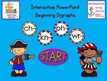 Beginning Digraphs ch, kn, ph, wr