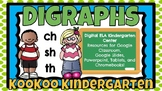Beginning Digraphs (ch  sh  th)-A Digital Literacy Center