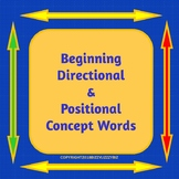 Beginning Directional and Positional Words List