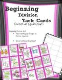 Beginning Division Equal Groups Task Cards