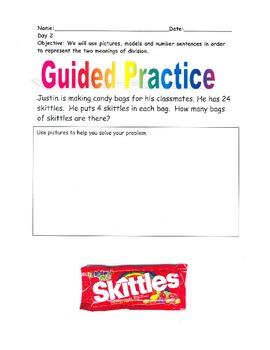 Beginning Division Word Problems- By: Ms. Bisker