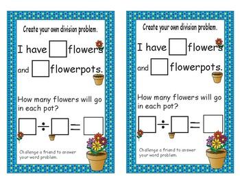 Beginning Division - sharing Flowers