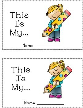 Beginning ESL Mini Book: This is My...