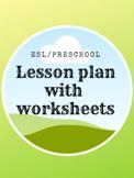 Beginning ESL lesson age 3-7