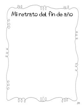 Beginning & End of Year: Kindergarten in Spanish