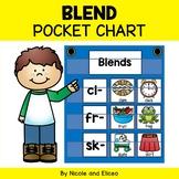 Phonics Pocket Chart - Blend Word Work