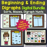 Beginning & Ending Digraphs sh, th, ch, wh, ck Digital Boo