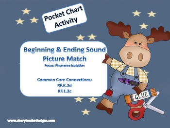 Beginning & Ending Sound Picture Match