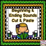 Beginning & Ending Sounds Cut & Paste