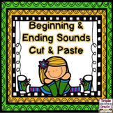 Beginning & Ending Sounds Cut & Paste