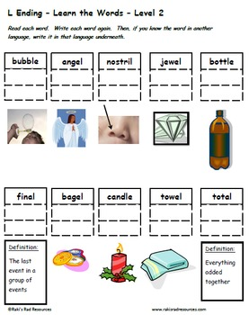 Beginning & End Patterns-Bundle of 5 Differentiated Spelling & Vocabulary Packs