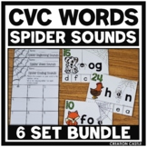 Beginning, Ending, and Medial Sounds Centers with CVC Word