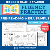 Beginning Fluency Mega Bundle - Letter Name, Letter Sound,