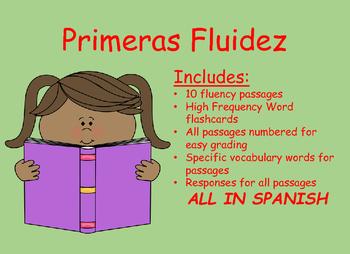 Beginning Fluency Passages Primeras Fluidez