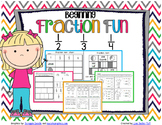Beginning Fraction Fun Printables