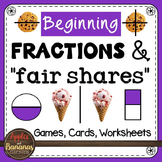 Fraction Activities - Worksheets - Games - Bingo - I Have Who Has