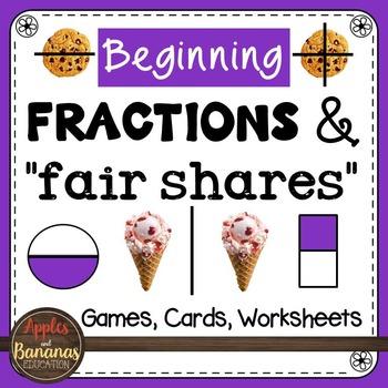 Fraction Activities - Worksheets - Games - Bingo - I Have Who Has