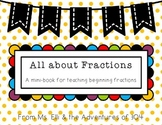 Beginning Fractions - Mini Book