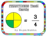Beginning Fractions Task Cards