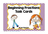 Beginning Fractions Task Cards (2.G.A.3)