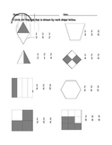 Beginning Fractions packet - 4 pages