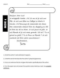 Beginning French Reading Practice