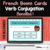 Beginning French verb conjugation BOOM CARDS French Distan