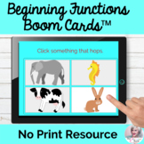 Language Functions Boom Cards™ No Print Speech Therapy | D