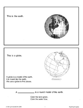 Beginning Geography: Globes and the Continents