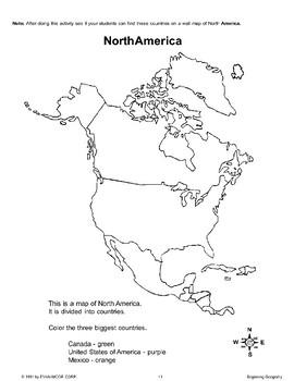 Beginning Geography: North America