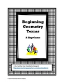 Beginning Geometry Terms: A Slap Game