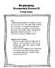 Beginning Geometry Terms II - A Slap Game