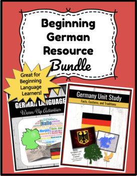 Beginning German Language Bundle! (Buy both, Save money!)