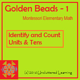 Golden Beads Booklet 1 from Uncluttered Learning