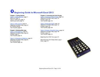Microsoft Excel 2013 Beginning