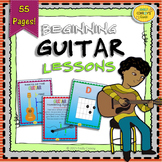Beginning Guitar Lessons (Music PowerPoint with Guitar Chords and Songs)
