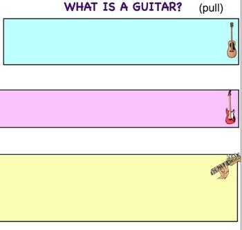Music: Beginning Guitar SMARTboard