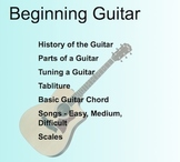 Music: Beginning Guitar SMARTboard