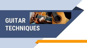 Beginning Guitar Technique Powerpoint