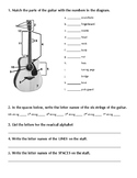 Beginning Guitar Unit Test #4 - Final Exam