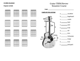 Beginning Guitar - Unit Test - Vocabulary Pamphlet Supplement